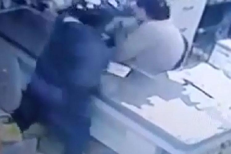 Empresário é agredido com soco durante assalto a supermercado em Barra da Estiva