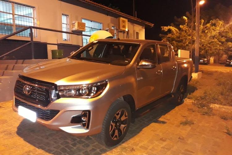 Caetité: Polícia recupera veículo de luxo que havia sido locado no Pernambuco