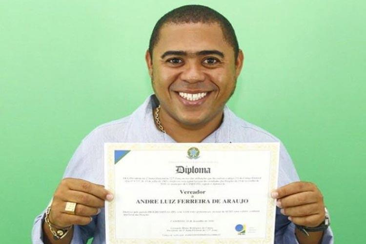 Candeias: Vereador Júnior da CCA é morto a tiros no bairro do Sarandi