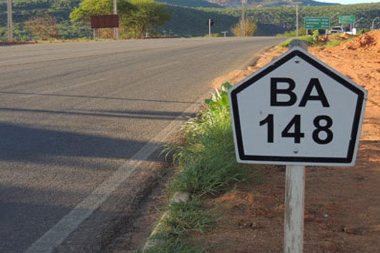 Dois acidentes são registrados na BA-148 em menos de 24 horas