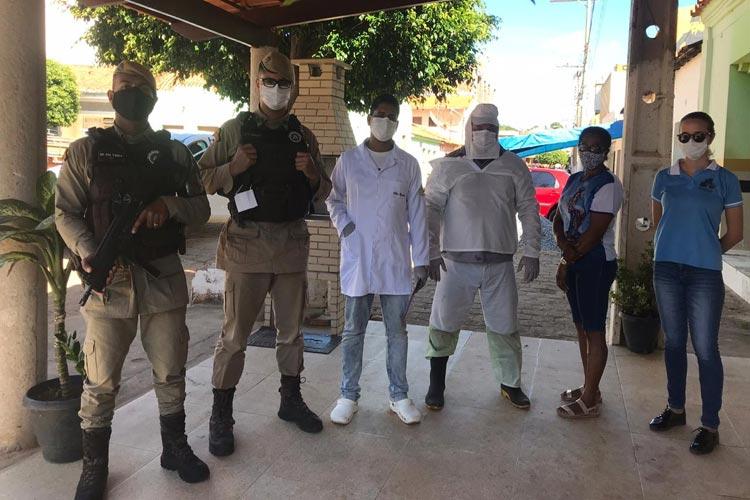 Rio do Pires: Vigilância Sanitária lacra festa e orienta quarentena em comunidades rurais