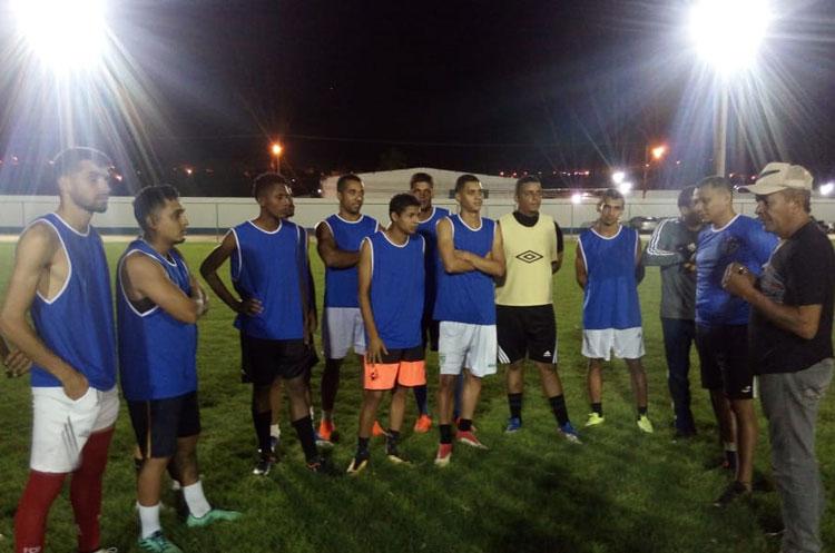 Mesmo durante a Copa, seleção de Brumado manteve os treinos para o Intermunicipal