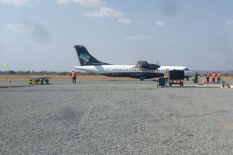 Passageira abre janela de emergência antes de decolagem e atrasa voo da Azul em Guanambi