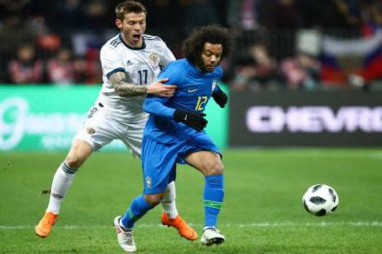 Brasil vence a anfitriã Rússia em amistoso preparativo para a Copa do Mundo 2018