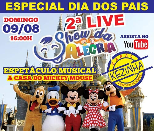 Brumado: Kezinha Produções promove a 2ª Live Show da Alegria Cover