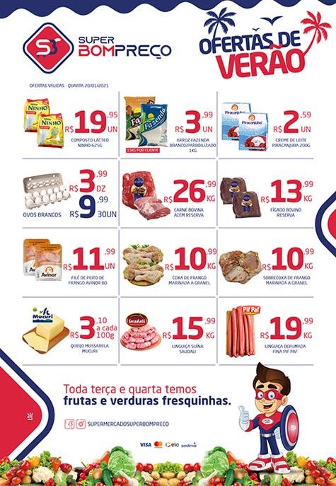 Confira as 'Ofertas de Verão' no Supermercado Super Bom Preço em Brumado