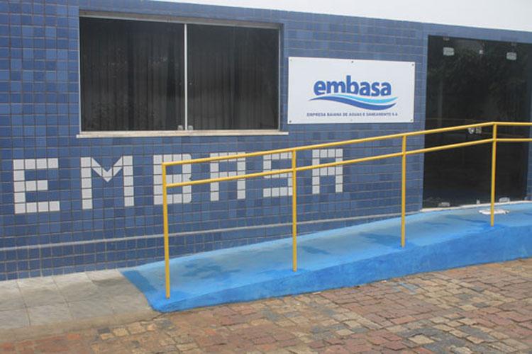 Embasa: Conta de água pode ser paga com cartão de crédito ou auxílio emergencial