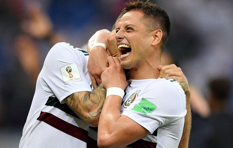 México vence Coreia do Sul e só depende de si para ser primeiro do grupo