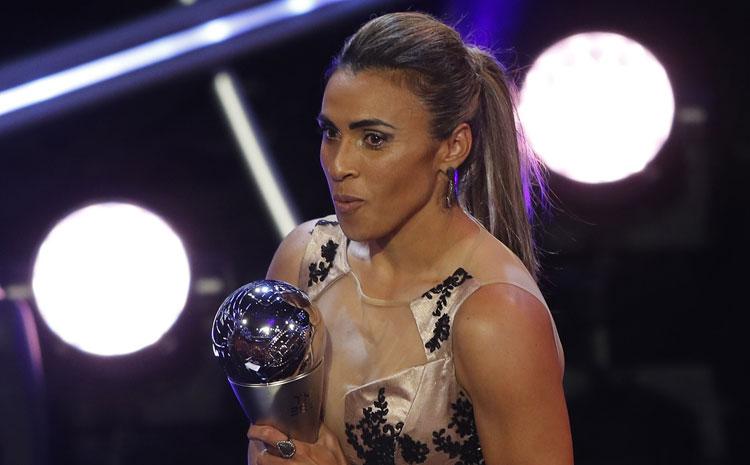 Marta é Melhor do Mundo pela 6ª vez