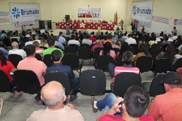 Márcio Aguiar é empossado novo presidente do diretório do PT em Brumado