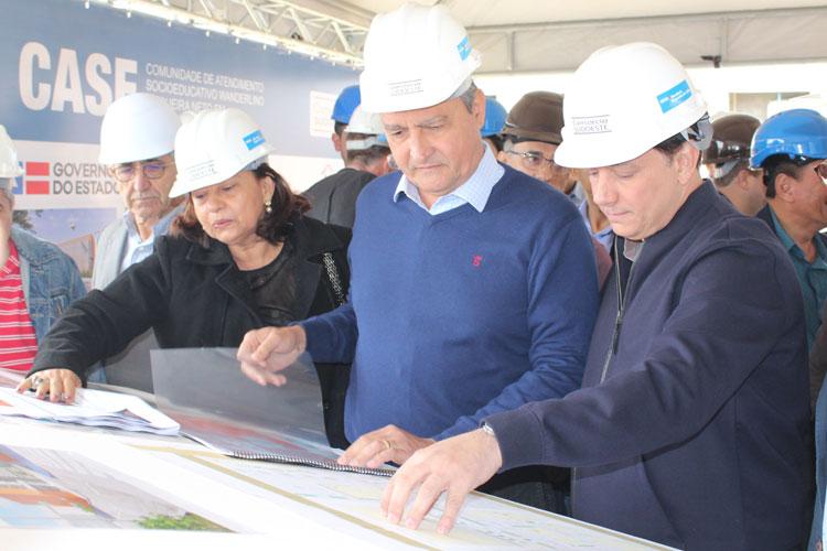 Rui Costa inspeciona obras e visita novo aeroporto de Vitória da Conquista