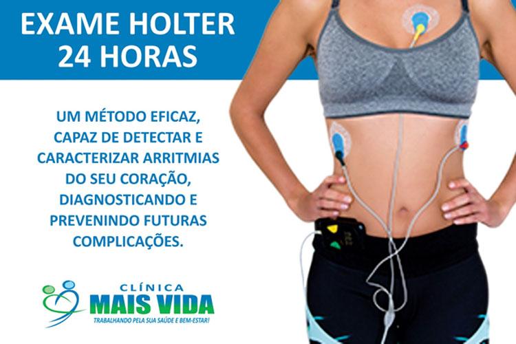 Cuide de seu coração na Clínica Mais Vida com exame de Holter