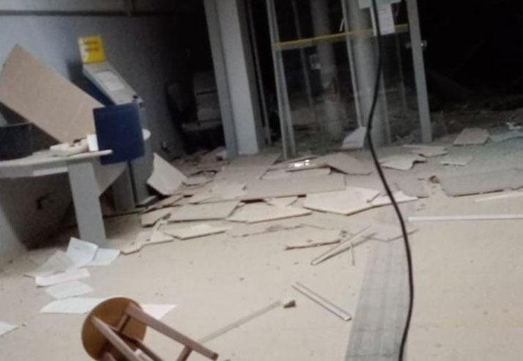 Agências bancárias são explodidas no município de Correntina