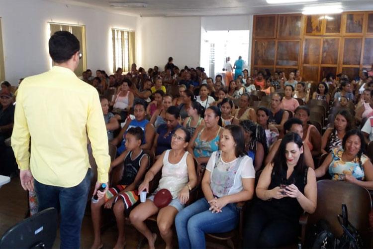 Brumado: Cras promove palestra para 130 famílias do Programa Avante Sertanejo