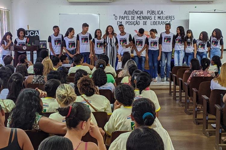Brumado: Audiência pública debate o papel de meninas e mulheres como líderes visando Selo Unicef