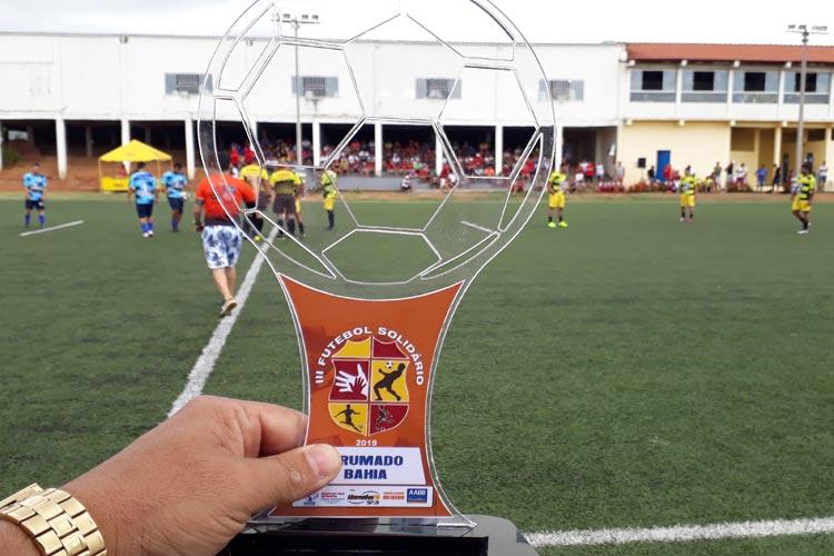 4ª Futebol Solidário é realizado com êxito na cidade de Brumado