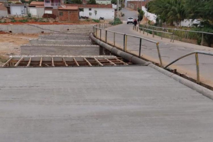 Brumado: Obras de duplicação da ponte do São Jorge devem ser concluídas até o final do ano
