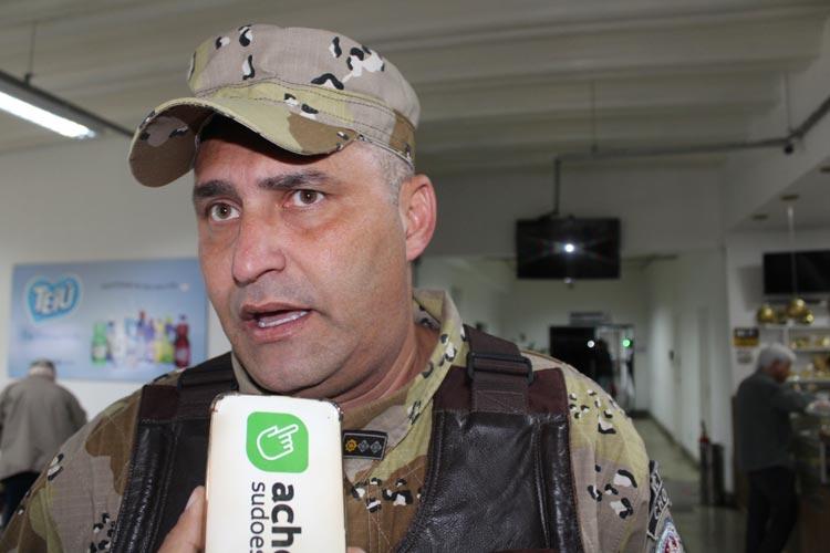Cipe Sudoeste: Major Edson Mascarenhas está estável e internado na UTI após passar por cirurgia
