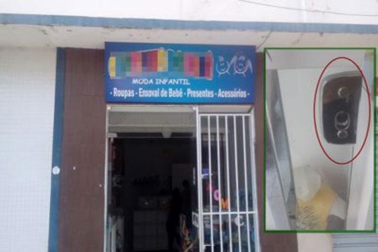 Livramento: Loja é arrombada e bandidos levam R$ 40 mil em mercadorias