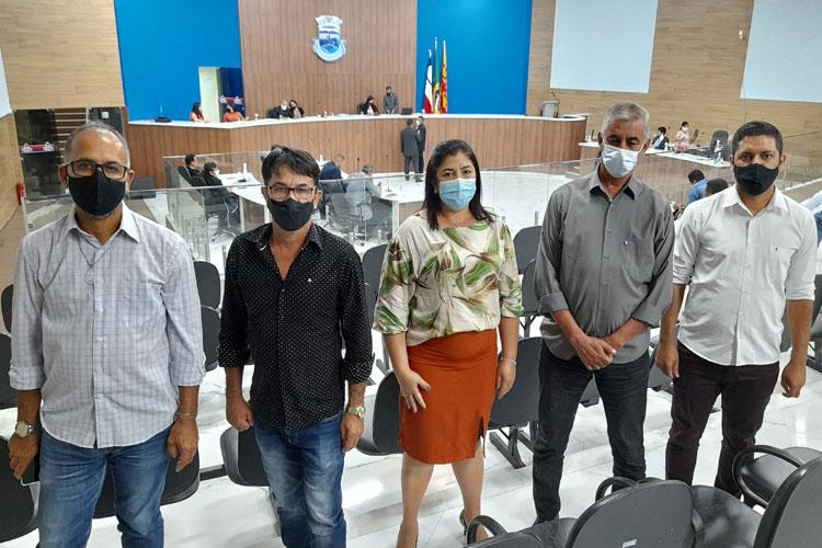 Vereadores de Rio do Antônio visitam Câmara de Brumado e fazem avaliação positiva do legislativo