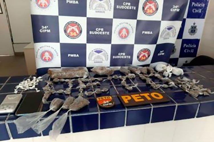Brumado: 34ª CIPM desarticula tráfico de drogas no Bairro São Félix