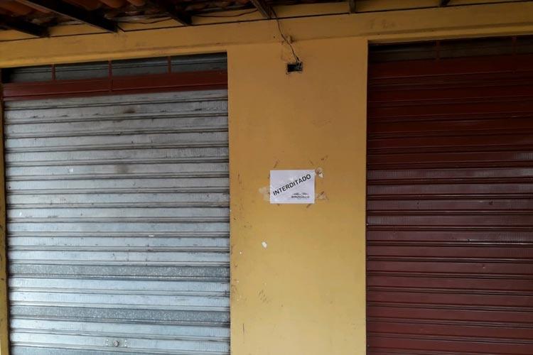 10 bares e mercearias são interditados e uma distribuidora é autuada em Brumado