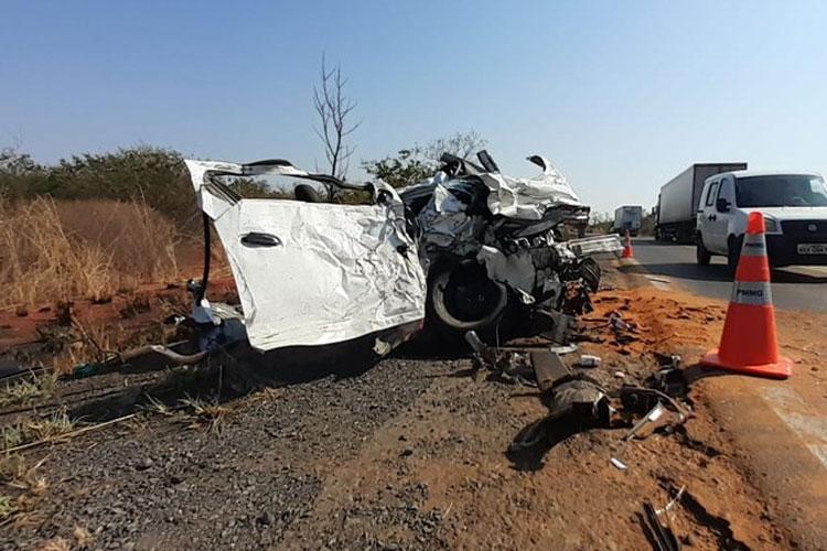 MG-122: Família de Macaúbas morre ao colidir com ônibus no norte de Minas Gerais
