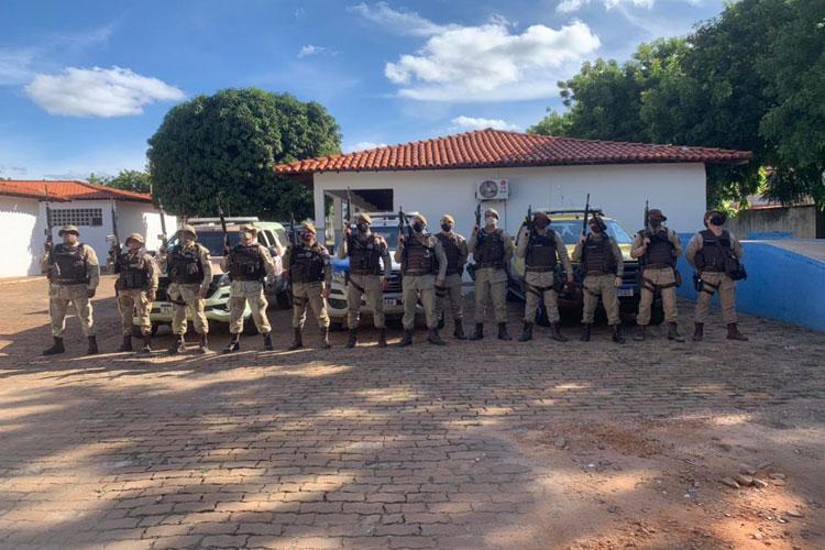 Operação Argos: Sete veículos são apreendidos pela PM no distrito de Mato Grosso em Rio de Contas