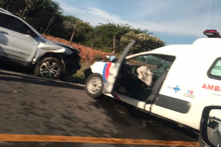 Malhada de Pedras: Secretário relata acidente com ambulância na BR-030 e novas medidas contra a Covid-19