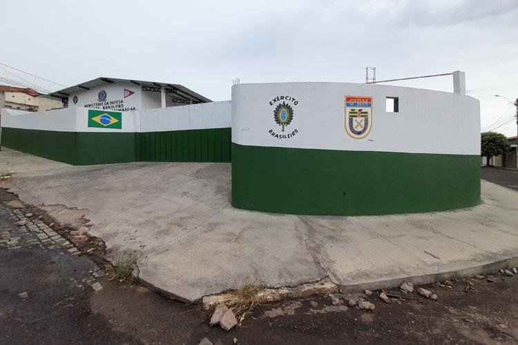 Brumado: Tiro de Guerra presta homenagem aos 373 anos do Exército Brasileiro
