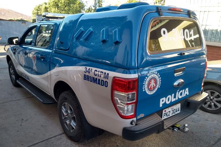 Dois assaltantes são detidos pelo Pelotão Especial da 34ª CIPM em Brumado