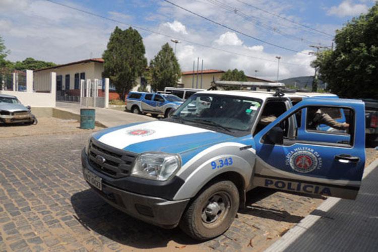 Acusado de matar uma pessoa e ferir outra na zona rural de Dom Basílio se entrega à polícia