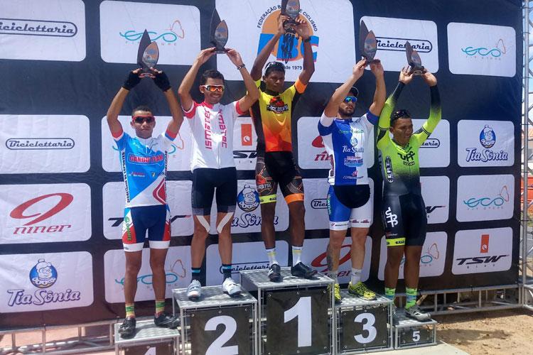 Ciclista brumadense mantém liderança no Speed sub-30 do Campeonato Baiano de Ciclismo