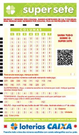 Super Sete: Caixa lança nova modalidade de loteria
