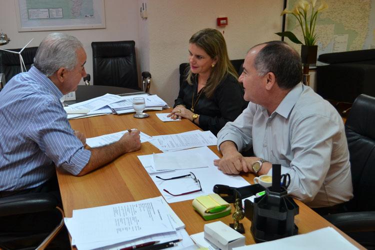 Ivana Bastos anuncia obra de Iluminação Núcleo de Ceraíma ao IF Baiano em Guanambi