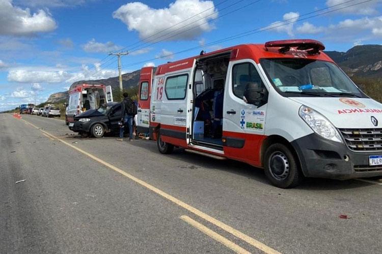 Veículo da prefeitura de Livramento de Nossa Senhora se envolve em acidente com três mortes