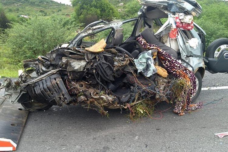 Sudoeste da Bahia: Acidente envolvendo carro deixa três mortos e uma criança ferida na BR-116