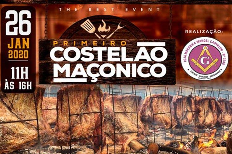Costelão Maçônico abre calendário de eventos gastronômicos em Brumado
