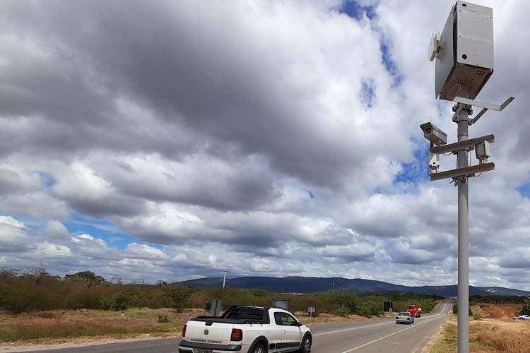 Radares já estão em funcionamento na BA-262 entre Brumado e Vitória da Conquista