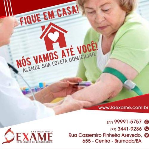 Laboratório Exame: Especializado em análises clínicas em Brumado