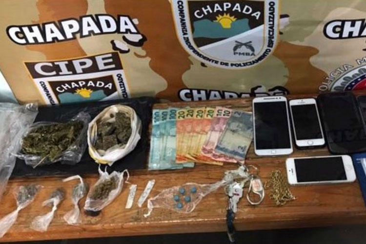 Mucugê: Estudantes de Direito são presos suspeitos de tráfico de drogas