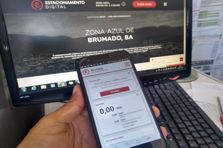 Brumado: Zona Azul contará com estacionamento digital através de site e aplicativo