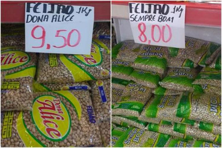Livramento de Nossa Senhora: Preço do feijão chega a R$ 9,50