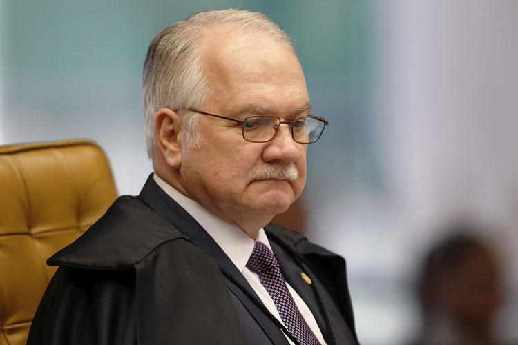 Fachin rejeita novo pedido de liberdade a Lula