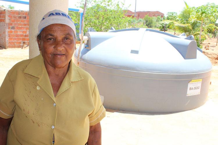 Em pouco tempo, chuvas encheram maioria das cisternas nas comunidades rurais de Brumado