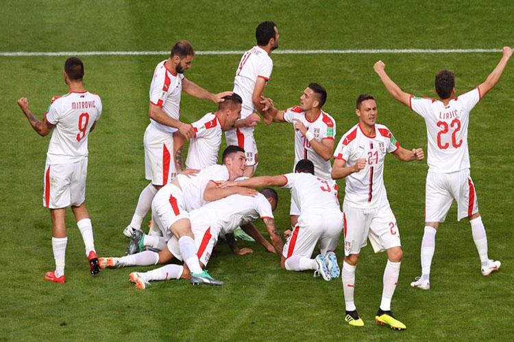 Copa do Mundo 2018: Sérvia bate Costa Rica na abertura do grupo do Brasil