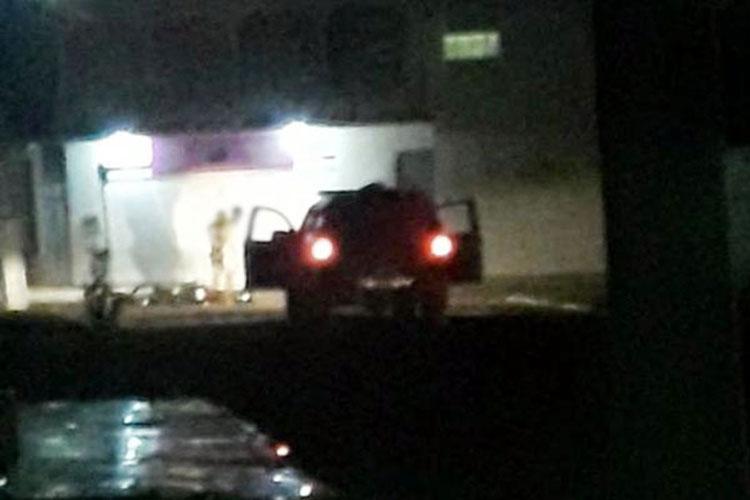 Dupla é detida após furar bloqueio policial em Livramento de Nossa Senhora