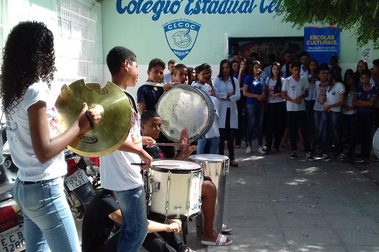 Projeto Escolas Culturais promove atividades na cidade de Tanhaçu