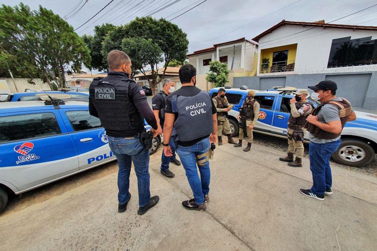 Operação Campo Seco cumpre mandado na zona rural de Brumado