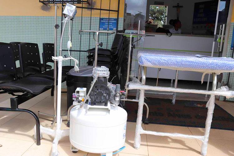 Unidades Básicas de Saúde de Caculé recebem novos equipamentos